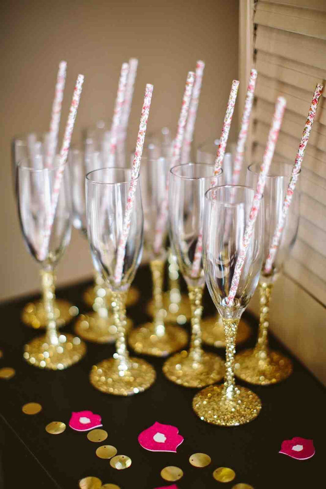 Glassware and party supplies