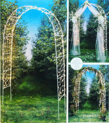 Lighted Wedding Arch - Knot and Nest Designs