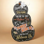 Giant free standing chalkboard sign - Thanksgiving decor
