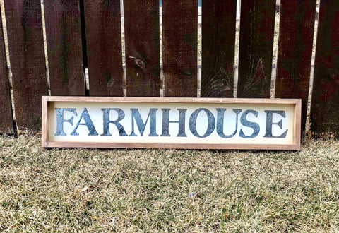 "Large Rustic Farmhouse Sign 40"" - Knot and Nest Designs"