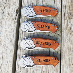 Mens Gift or Groomsmen customized gift - Knot and Nest Designs