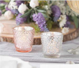 12 pack textured votives - Knot and Nest Designs