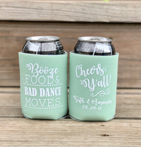 Custom Koozies - Knot and Nest Designs