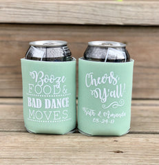 Custom Can Coolers - Knot and Nest Designs