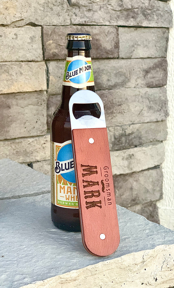 Custom Bottle Opener - Knot and Nest Designs