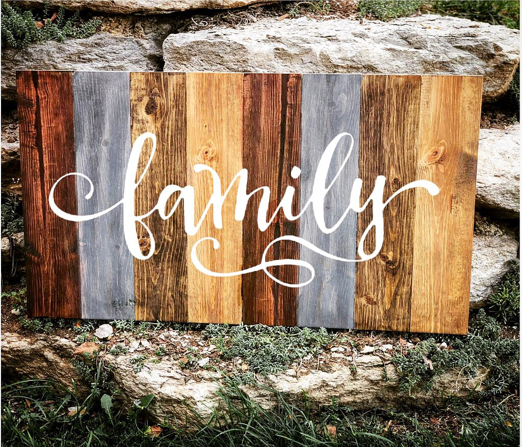Large Farmhouse Sign - Knot and Nest Designs