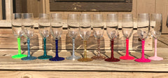Glitter Glassware flute - Knot and Nest Designs