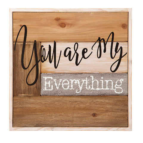 You are my everything - Knot and Nest Designs