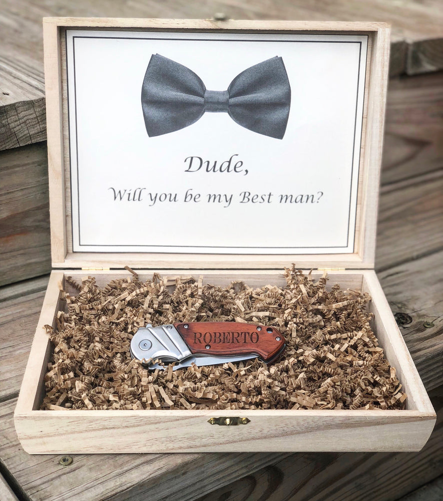 Load image into Gallery viewer, Groomsmen gift box - Knot and Nest Designs