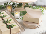 12 pack Gold Accent textured votives
