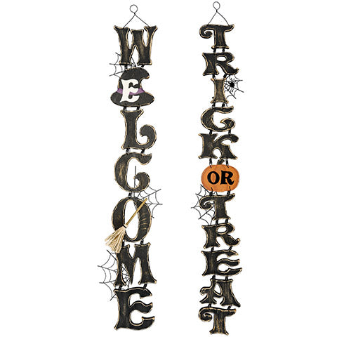 Halloween Signs perfect for wreath Alternative