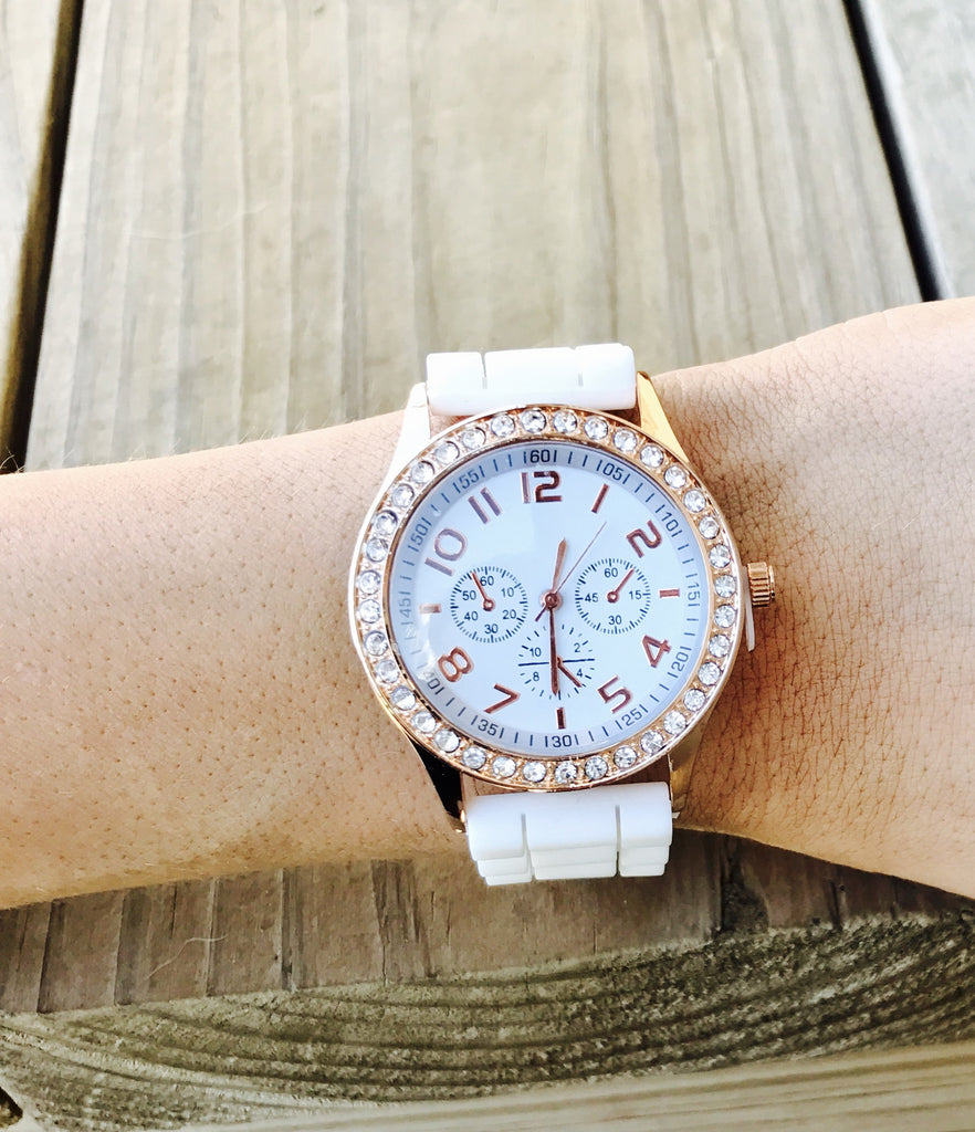 Silicone Fashion Watch