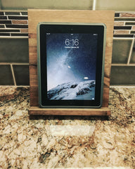 Rustic Kitchen cookbook or tablet stand
