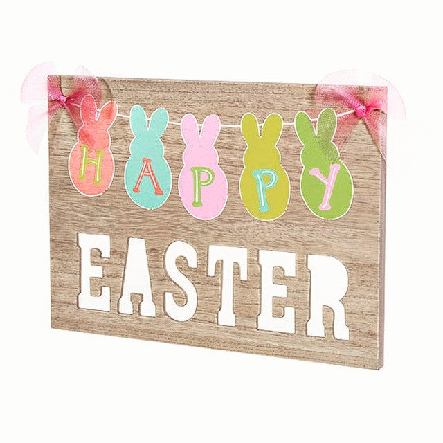 Easter Wooden Sign - Knot and Nest Designs