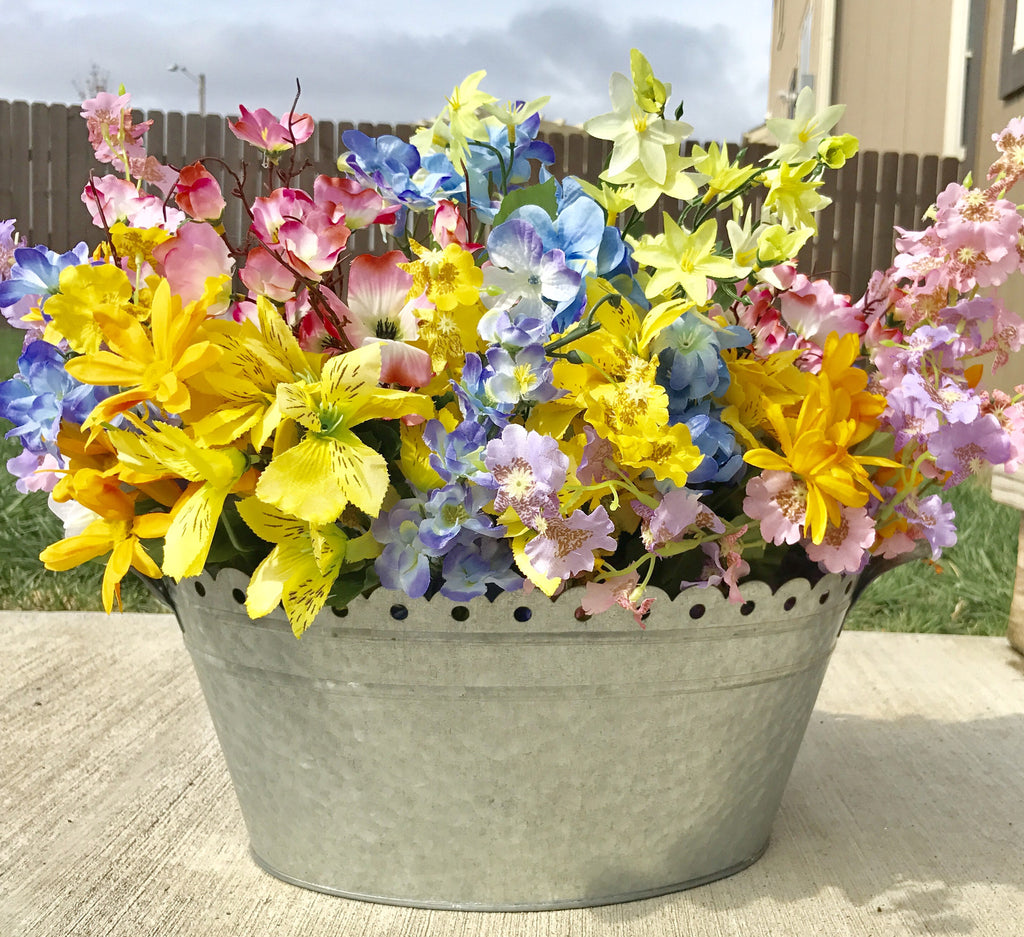 Spring Flower Planter - Large - Knot and Nest Designs