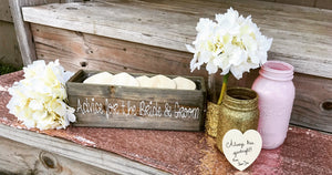 Rustic guest book - Knot and Nest Designs
