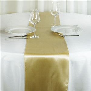 Satin Table Runner - choose your color - Knot and Nest Designs
