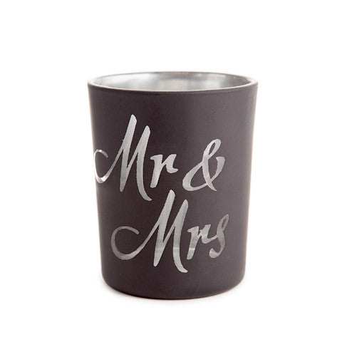 Mr. and Mrs votives - 12 Pack - Knot and Nest Designs