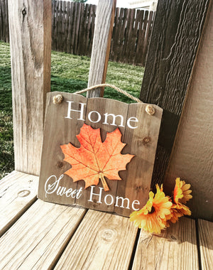 Home Sweet Home Sign - Knot and Nest Designs