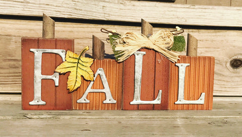 Fall Tabletop Sign - Knot and Nest Designs
