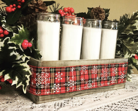 Christmas/Holiday Rustic Centerpiece