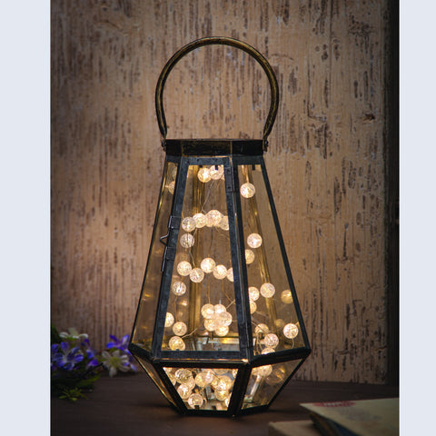 Rustic Terrarium Lantern - Knot and Nest Designs