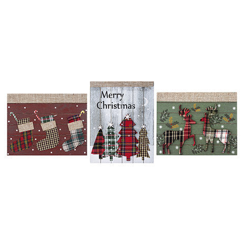Rustic Christmas Sign - Choose Your Style - Knot and Nest Designs