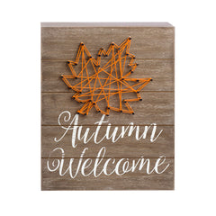 Hello Autumn String Art