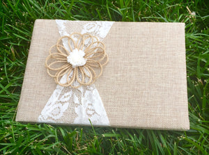 Wedding Guest Book - Knot and Nest Designs
