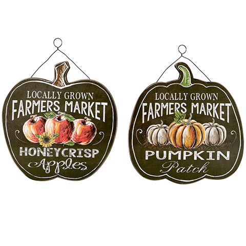 2 - Pack fall pumpkin chalkboard decor - Knot and Nest Designs