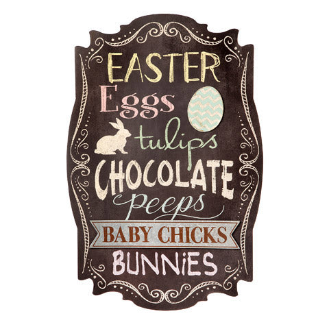 Chalkboard Easter Sign - Knot and Nest Designs