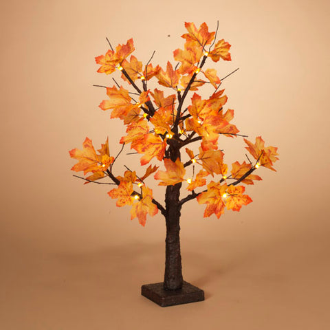 "24"" Fall Lighted Magnolia Tree - Knot and Nest Designs"