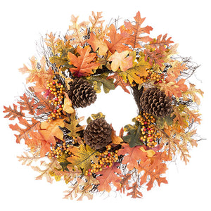 Fall Wreath - Knot and Nest Designs