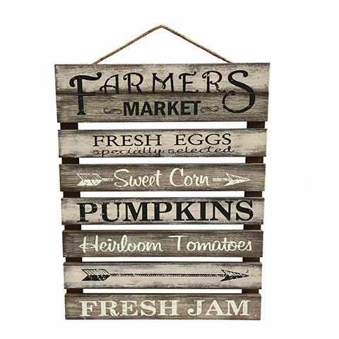 Load image into Gallery viewer, Farmers Market Fall Sign - Knot and Nest Designs
