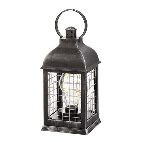 Farmhouse Rustic bulb lantern - Knot and Nest Designs