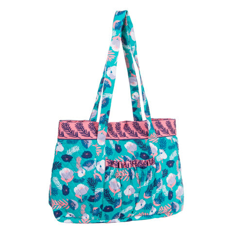 Feather Designer Tote - Knot and Nest Designs