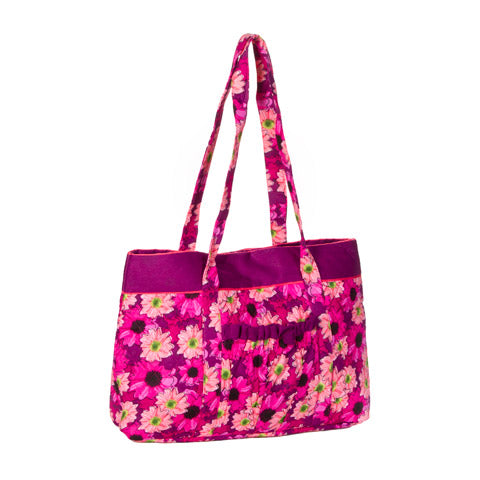 Floral Designer Tote - Knot and Nest Designs