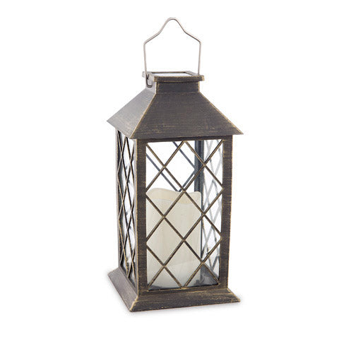 Golden bronze Solar Lantern