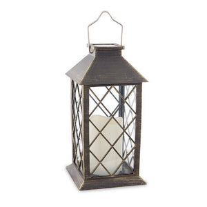 Load image into Gallery viewer, Golden bronze Solar Lantern - Knot and Nest Designs