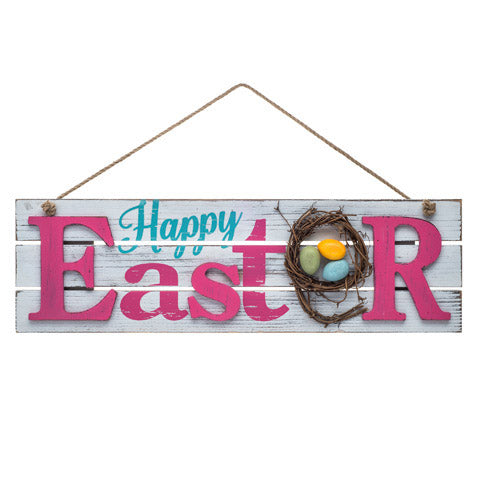 Easter Welcome Sign - Knot and Nest Designs