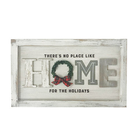 Home For The Holidays Farmhouse Sign