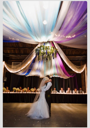 600' premium tulle package - Knot and Nest Designs