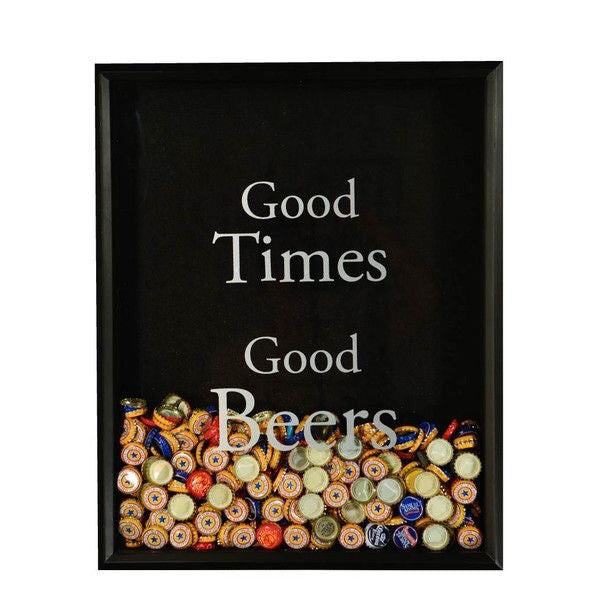 Mens Valentine gift - Good Time Good Beers bottlecap holder