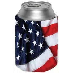 10 pack fourth of July koozies - Knot and Nest Designs