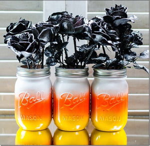 Fall Mason Jar - Knot and Nest Designs