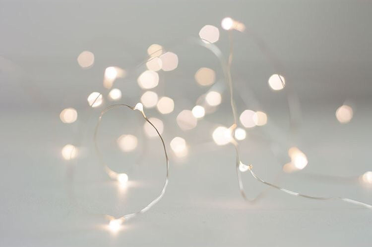 20 strands of fairy lights