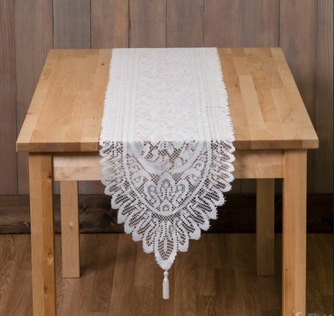 Lace Table Runner - Knot and Nest Designs