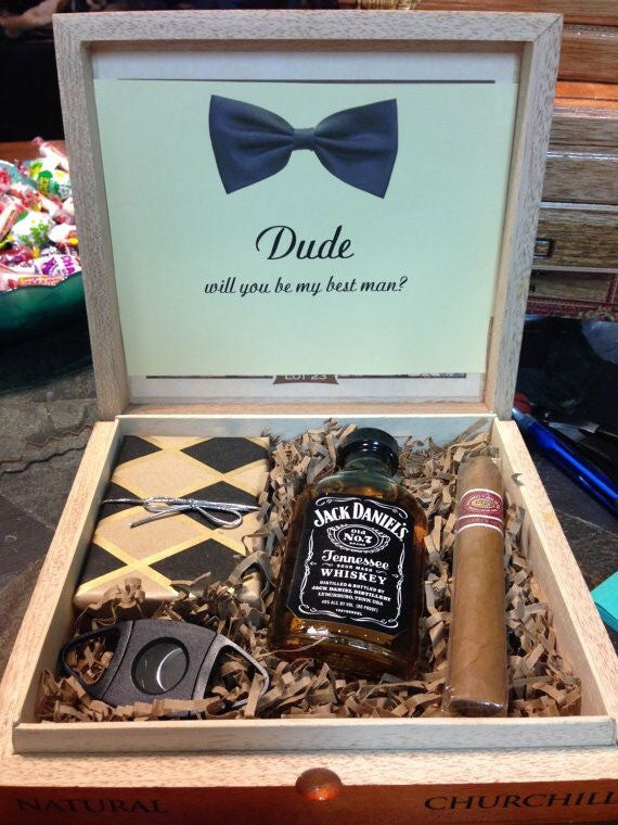 Engraved Groomsmen Or Bridesmaid Box