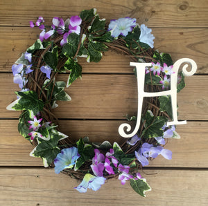 Custom monogram Wreath - Customized Choose your monogram - Knot and Nest Designs