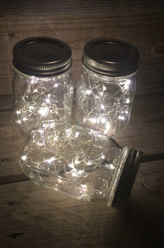 12 Pack Of Mason Jar Lamps Knot And Nest Designs